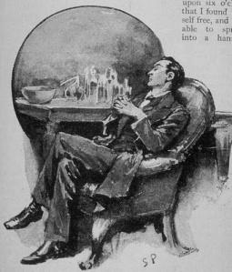 Sherlock Holmes asleep/paget