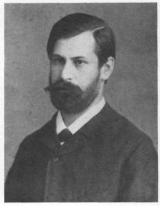 Sigmund Freud in July 1884, nearly seven years before he will meet Sherlock Holmes (if you believe Nicholas Meyer).