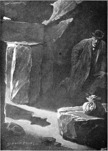 Holmes lived under a type of rock for awhile, so you're in goo company.