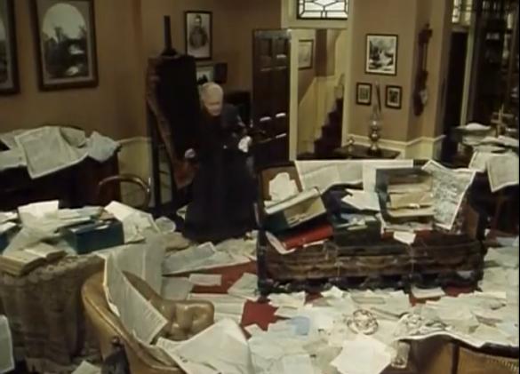 Mrs Hudson Messy Room