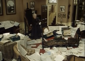 mrs hudson messy room