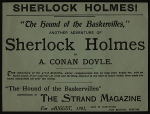 HOUN broadsheet, advertising story in Strand