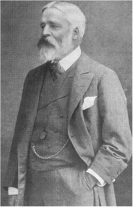 """Sir George Newnes in more prosperous times. (From Ray Wilcockson's """"Altamarkings"""" blog)."""