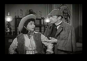 Ok, ok, it's not this bad. Still, you should check out Ronald Howard in Sherlock Holmes and the Texas Cowgirl.