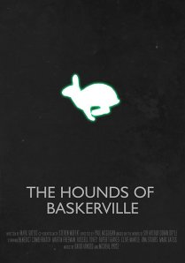 That's not the only thing glowing at Baskerville. (Image from Redbubble)