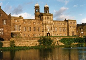 Stonyhurst College, where Conan Doyle attended from 1868 to 1875, ages 9 to 16.