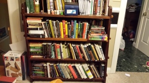 There's a wealth of Sherlockian knowledge on these shelves. Along with some outright crazy.