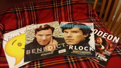 New York Times Magazine, Out, Entertainment Weekly, Odeon