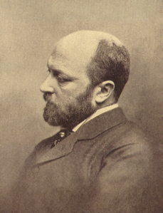 Writer Henry James, c. 1893, the date of The Fifth Heart.