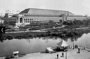 Manufactures and Liberal Arts Building, World's Columbian Exposition, 1893 (chicago120.org)
