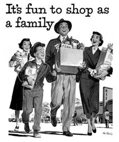 Its fun to shop as a family