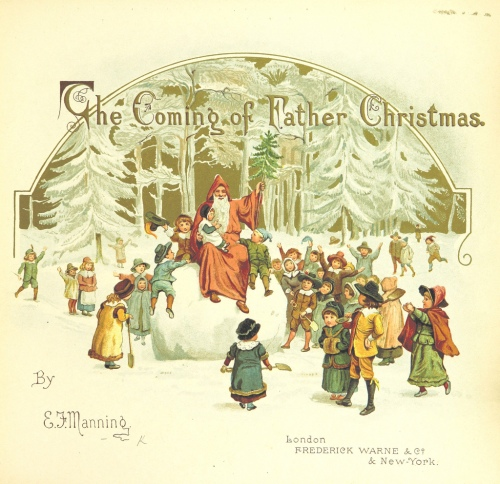 the coming of father christmas