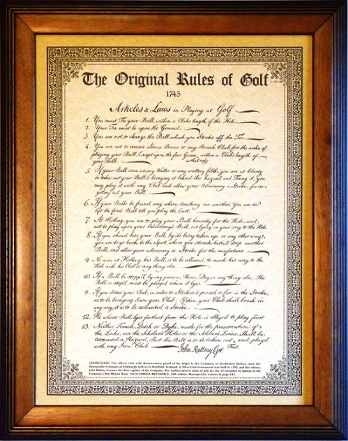 13-rules-of-golf