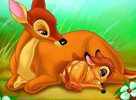 bambi-and-his-mother